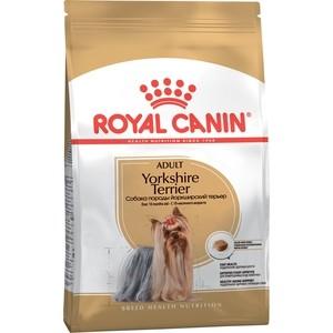 Сухой корм Royal Canin Adult Yorkshire Terrier для собак от 10 месяцев породы Йоркширский терьер 7,5кг (140075) корм royal canin adult yorkshire pri 28 1 5kg для йоркширского терьера 140015 685015
