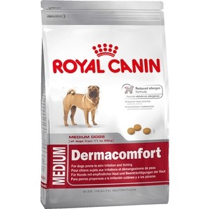 Сухой корм Royal Canin Maxi Dermacomfort для собак крупных пород склонных к кожным раздражениям и зуду 14кг (382140) купить в днепропетровске металл ст 3 s40 600х