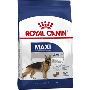 Сухой корм Royal Canin Maxi Adult для собак крупных пород 15кг (122150) chun ji мобы крем для губ десерт macarons комплект смочить 4 5 г 4 5 г ремонт увлажняющий 4 5 г