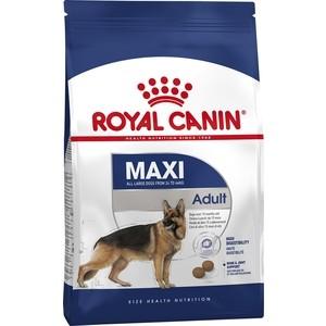 цена на Сухой корм Royal Canin Maxi Adult для собак крупных пород 15кг (122150)