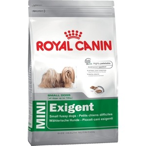 Сухой корм Royal Canin Mini Exigent для собак мелких пород привередливых в питании 2кг (313020) сухой корм royal canin mini dermacomfort дл собак мелких пород склонных к кожным раздраженим и зуду 2кг 380020