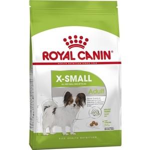все цены на Сухой корм Royal Canin X-Small Adult для собак миниатюрных пород 3кг (315030)