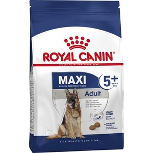Сухой корм Royal Canin Maxi Adult 5+ для собак крупных пород старше 5 лет 15кг (330150) стингер с 155 ст