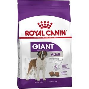 Сухой корм Royal Canin Giant Adult для собак очень крупных пород 15кг (340150) метал листовой ст 3 6мм купить по низким ценам