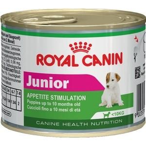 Консервы Royal Canin Junior Appetite Stimulation для щенков мелких пород 195г (777002) корм royal canin junior 195g для щенков 777002