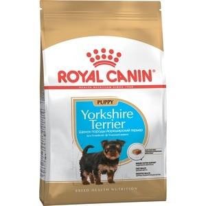 Сухой корм Royal Canin Junior Yorkshire Terrier для щенков от 10 месяцев породы Йоркширский терьер 1,5кг (167015) корм royal canin adult yorkshire pri 28 1 5kg для йоркширского терьера 140015 685015