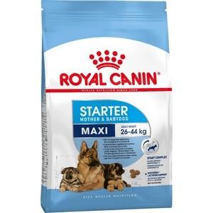 Сухой корм Royal Canin Maxi Starter Mother & Babydog для щенков крупных пород до 2-х месяцев, беременных и кормящих собак 4кг (191040)