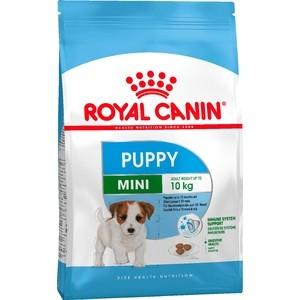 Сухой корм Royal Canin Mini Junior для щенков мелких пород до 10 месяцев 4кг (305040)