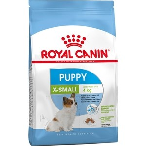 Сухой корм Royal Canin X-Small Junior для щенков миниатюрных пород до 10 месяцев 1,5кг (314015)