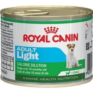 Консервы Royal Canin Adult Light Calorie Dilution для собак склонных к ожирению 195г (779002) корм сухой royal canin mini light weight care для взрослых собак склонных к ожирению 2 кг
