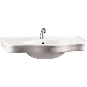 Раковина Vitra Efes 100 см (6209B003-0001) vitra d light 5918b003 0001