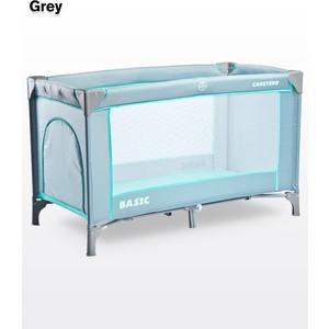 Фотография товара манеж-кровать Caretero Basic Grey (серый) (614098)