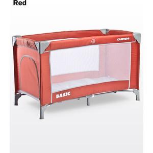 Манеж-кровать Caretero Basic Red (красный)