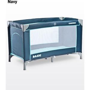 Манеж-кровать Caretero Basic Navy (синий)