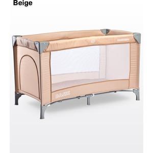 Манеж-кровать Caretero Basic Beige (бежевый)