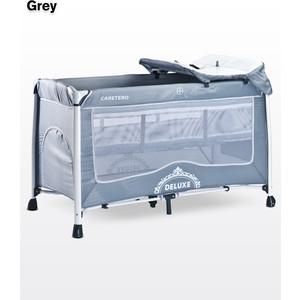 Манеж-кровать Caretero Deluxe Grey (серый)