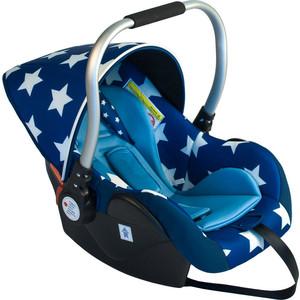 Автокресло BabyHit Primary синее в белую звёздочку