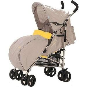 Коляска BabyHit Matoz Neo серо-желтая коляска прогулочная babyhit drive серо оранжевая