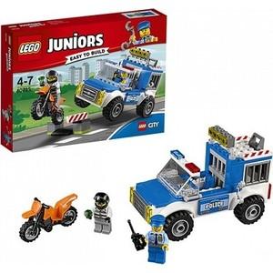 Игрушка Lego Джуниорс Погоня на полицейском грузовике (10735)