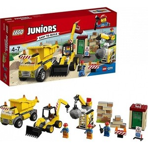 Игрушка Lego Джуниорс Стройплощадка (10734)