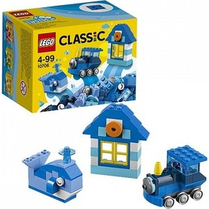 Игрушка Lego Классика Синий набор для творчества (10706)