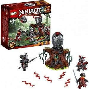 Игрушка Lego Ниндзяго Атака Алой армии (70621)