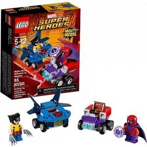 Игрушка Lego Супер Герои Mighty Micros: Росомаха против Магнето (76073) конструктор lego super heroes 76069 mighty micros бэтмен против мотылька убийцы