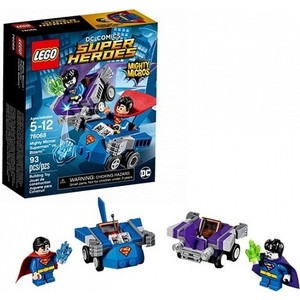 Игрушка Lego Супер Герои Mighty Micros: Супермен против Бизарро (76068) конструктор lego super heroes супермен против бизарро 76068