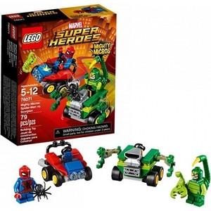 Игрушка Lego Супер Герои Mighty Micros: Человек-паук против Скорпиона (76071)