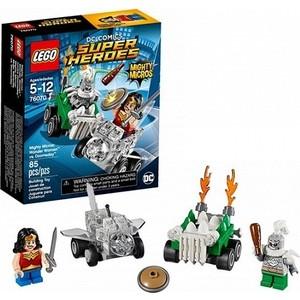 Игрушка Lego Супер Герои Mighty Micros: Чудо-женщина против Думсдэя (76070) конструктор lego super heroes 76069 mighty micros бэтмен против мотылька убийцы