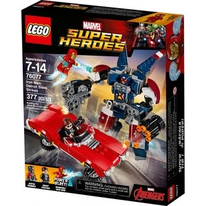 Игрушка Lego Супер Герои Железный человек: Стальной Детройт наносит удар (76077) lego классика