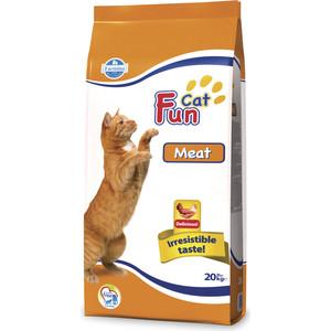 Сухой корм Farmina Fun Cat Meat с мясом для взрослых кошек 20кг(10476) пудовъ мука ржаная обдирная 1 кг