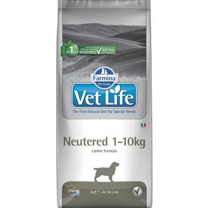 Сухой корм Farmina Vet Life Neutered Canine диета при профилактике МКБ для стерилизованных собак весом до 10 кг 2кг (22455)