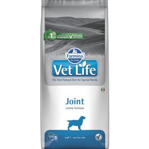 Сухой корм Farmina Vet Life Joint Canine диета при заболеваниях опорно-двигательного аппарата для собак 2кг (22486) гхк глюкозамин хондроитин комплекс гель универсальный 50мл