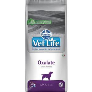 Сухой корм Farmina Vet Life Oxalate Canine диета при профилактики МКБ уратного, оксалатного и цистиного типа для собак 2кг (25234) препарат gigi уро урси для профилактики и лечения мкб и циститов 90 капсул