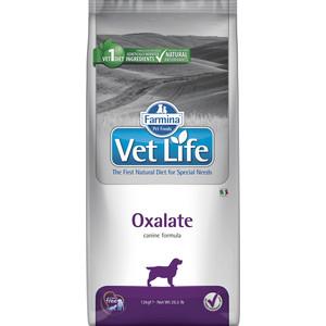 Сухой корм Farmina Vet Life Oxalate Canine диета при профилактики МКБ уратного, оксалатного и цистиного типа для собак 12кг (25388) препарат gigi уро урси для профилактики и лечения мкб и циститов 90 капсул