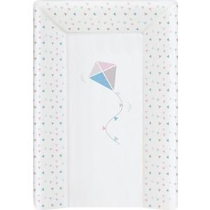 Фотография товара матрас пеленальный Ceba Baby (Себа Беби) 70 см с изголовьем на кровать 120*60 см Kite bluepink W-201-070-023 (614962)