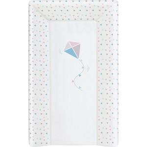 Матрас пеленальный Ceba Baby (Себа Беби) 80 см с изголовьем на кровать 125*65 см Kite bluepink W-211-070-023 запчасти для планшетных устройств rd070hd28 v1 fpc 070 w 41 ips