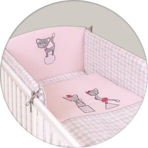 Постельное белье Ceba Baby (Себа Беби) 3 пр. Cats pink вышивка W-801-069-130 3 5 inch hair comb for pets cats
