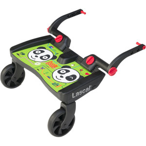Подножка Lascal (Ласкал) для второго ребенка Buggy Board Maxi Panda City Green 2761 mxfans green upgrade 12mm dia t10122 rc1 8 buggy wheel hex mount kit 12pcs in one set