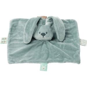 Игрушка мягкая Nattou Doudou (Наттоу Дуду) Lapidou Кролик coppergreen 878258 мягкая игрушка nattou doudou lapidou кролик 878265 anthracite