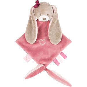 Игрушка мягкая Nattou Doudou (Наттоу Дуду) малая Nina, Jade & Lili Кролик 987141 игрушка мягкая nattou musical soft toy наттоу мьюзикал софт той nina jade
