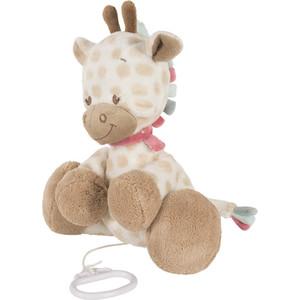 Игрушка мягкая Nattou Musical Soft toy (Наттоу Мьюзикал Софт Той) Charlotte & Rose Жираф музыкальная 655057