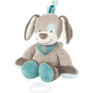 Игрушка мягкая Nattou Musical Soft toy (Наттоу Мьюзикал Софт Той) Gaston & Cyril Собачка музыкальная 531061