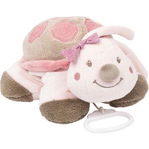Игрушка мягкая Nattou Musical Soft toy (Наттоу Мьюзикал Софт Той) Nina, Jade & Lili Черепашка музыкальная 987073 игрушка мягкая nattou musical soft toy наттоу мьюзикал софт той nina jade