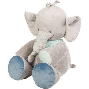 Игрушка мягкая Nattou Soft toy (Наттоу Софт Той) Jack, Jules & Nestor Слоник 75 см 843034