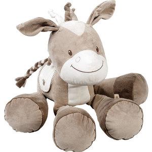 Игрушка мягкая Nattou Soft toy (Наттоу Софт Той) Max, Noa & Tom Лошадка 75 см 777032 игрушка мягкая nattou musical soft toy наттоу мьюзикал софт той nina jade