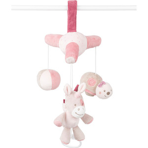 Мобиль-мини Nattou (Наттоу) Nina, Jade & Lili Кролик, Единорог, Черепашка 987257 игрушка мягкая nattou cri cris наттоу кри крис nina jade