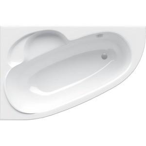 Акриловая ванна Alpen Terra L 140х95 цвет Snow white, левая (AVA0039) акриловая ванна alpen triangl 180x120 l левая комплект