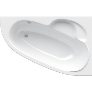 Акриловая ванна Alpen Terra R 140х95 цвет Snow white (AVA0040)